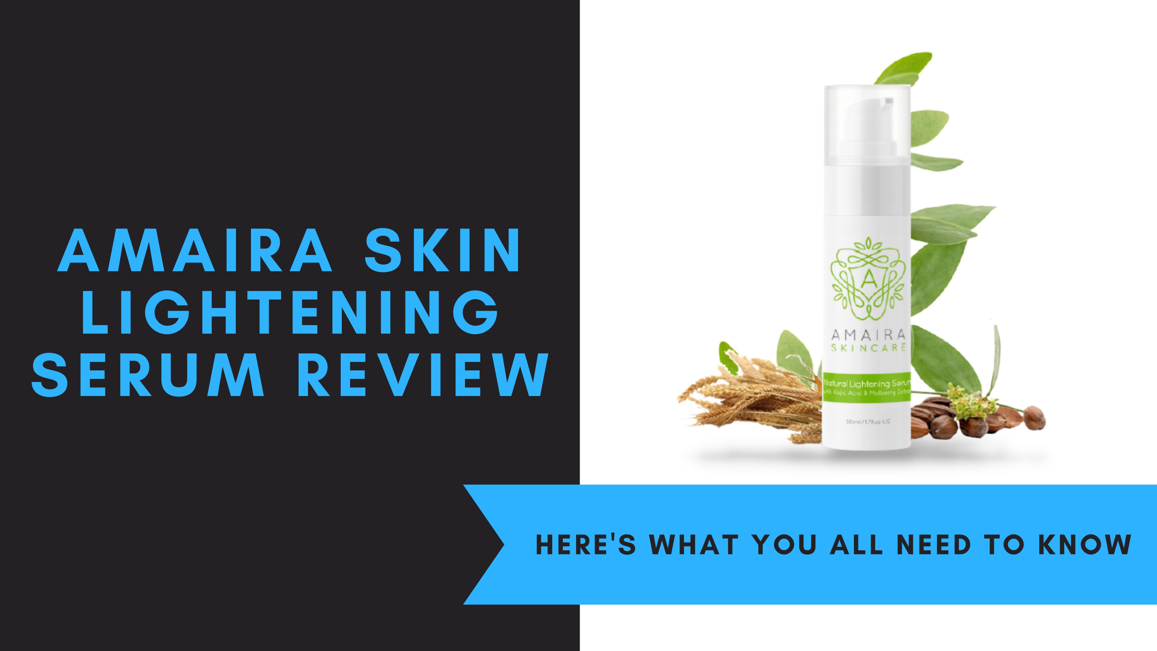 Amaira Skin Lightening Serum